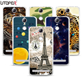 """K5Note DIY Pattern Cover Flower Dog Printed Silicone Fundas Name Case For Lenovo Vibe K5 note 5.5"""" Soft Plastic TPU Phone Cases"""