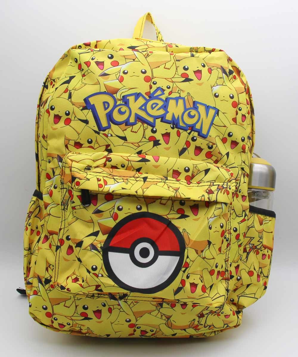 GAME Pokemon GO Poke ball Team Valor Moltres Laptop Backpack Shoulder School Bag Unisex School bag travel backpacks 14 style