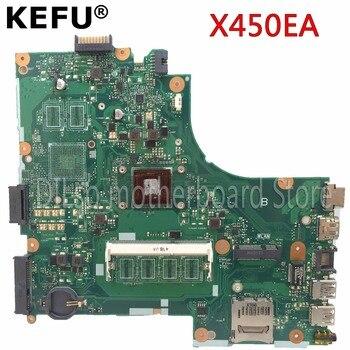 KEFU X450EP материнская плата для ASUS X450EP X450EA материнская плата для ноутбука с процессом оригинальный тест материнской платы