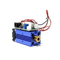 405nm 150 mw 바이올렛/퍼플 레이저 도트 모듈 12 v + ttl + 팬 냉각 작동