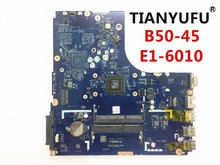 Free Shipping Brand New ZAWBA/BB LA B291P motherboard For Lenovo B50 45 Laptop motherboard ( For AMD E1 6010 CPU )tested 100%