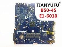 送料無料ブランド新 ZAWBA/BB LA B291P Lenovo B50 45 ノートパソコンのマザーボード (Amd の E1 6010 CPU) テスト 100%