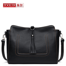ZOOLER Luxury Genuine Leather Women Bag  Famous Brand Designer Zipper Lady Handbag High Quality Leather Totebolsos mujer#BC-8156