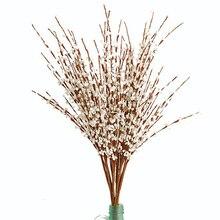 74cm de comprimento do jasmim artificial flor falsa para o casamento casa escritório festa hotel restaurante pátio ou quintal decoração a2250