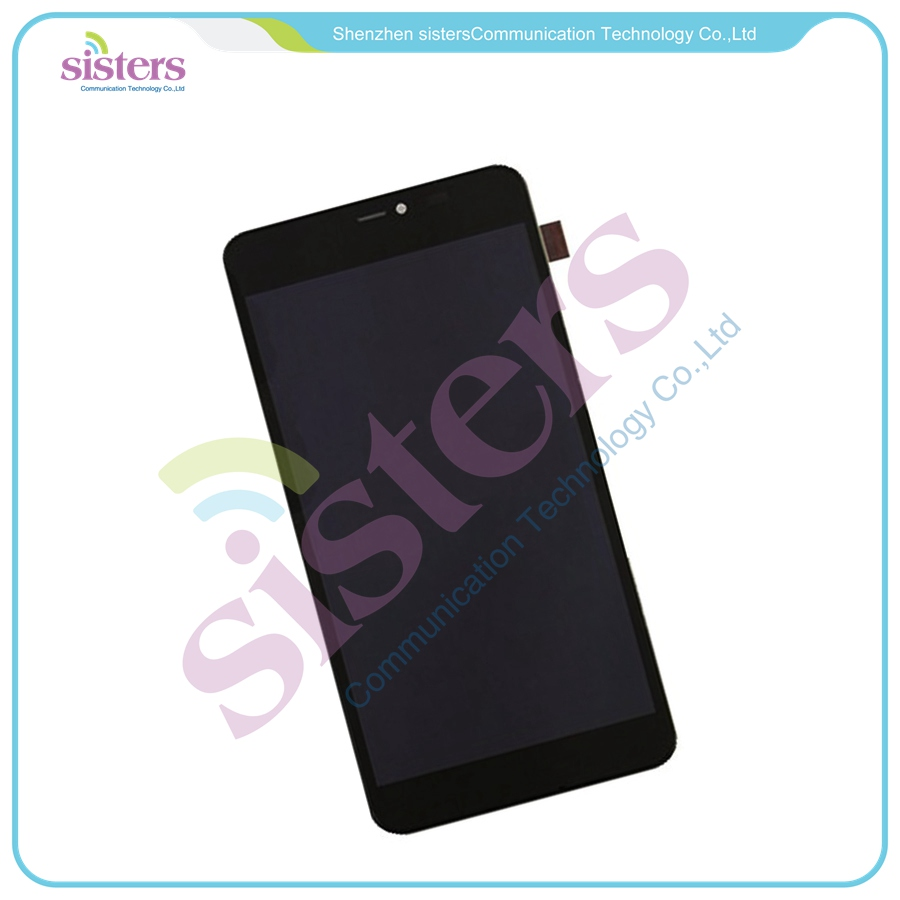 10pcs/lot Wholesale Lcd Display Touch Screen Digitizer Full Assembly With Frame For Microsoft Lumia 640 Xl Yet Not Vulgar