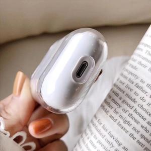 Милый чехол для Apple airpods, чехол с изображением забавной статуи, беспроводной Bluetooth чехол для наушников Airpods 1/ 2, Мягкий защитный чехол, чехол