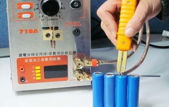 719a Handheld Precision Battery Spot Welder Internal