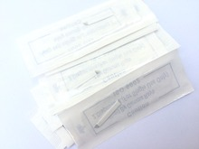 50pcs 0.2mm Needle 11 Pin Permanent Eyebrow Makeup Blades Tattoo Manual Needle For Microblading Pen Machine 3D Microblading