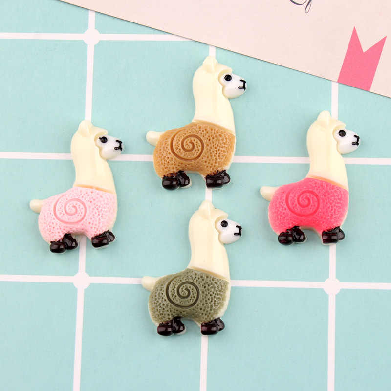 6Pcs/Lot Simulated Sheep Polymer Slime Charms Lizun Modeling Clay DIY Kit  Accesorios Box Toy For Children Slime Supplies Filler