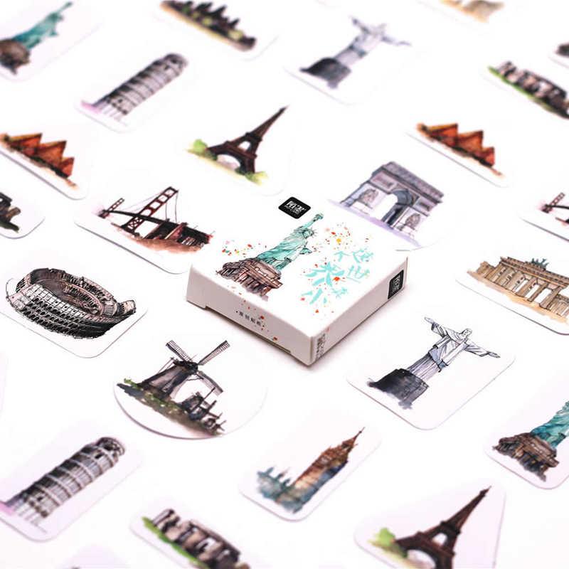 מכירות קידום 45pcs Unicorn סימניות נייר מדבקת קישוט DIY אלבום רעיונות מדבקת Kawaii מכתבים מתנה