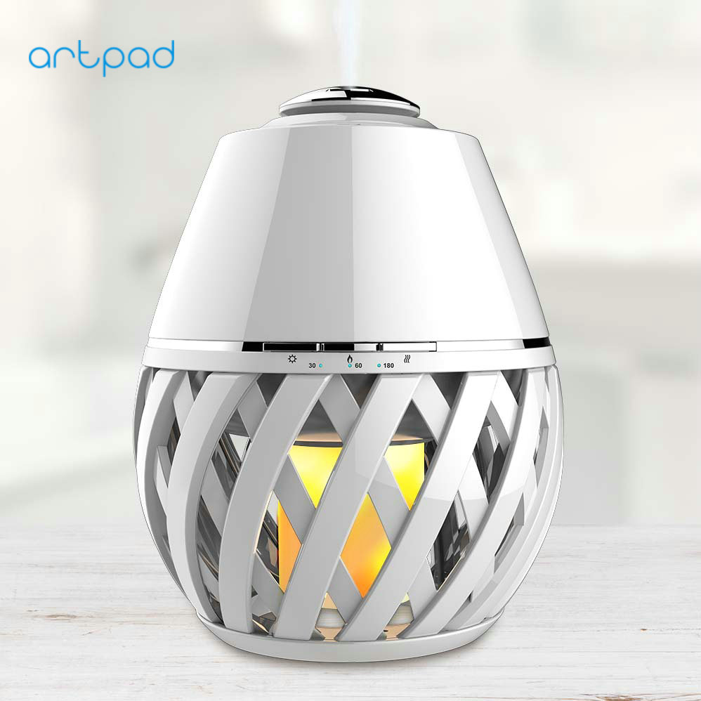 ArtPad Good Sale in US Aroma Diffuser with Flame Atmosphere LED Color Changing Night Lamp significant pharmaceuticals reported in us patents