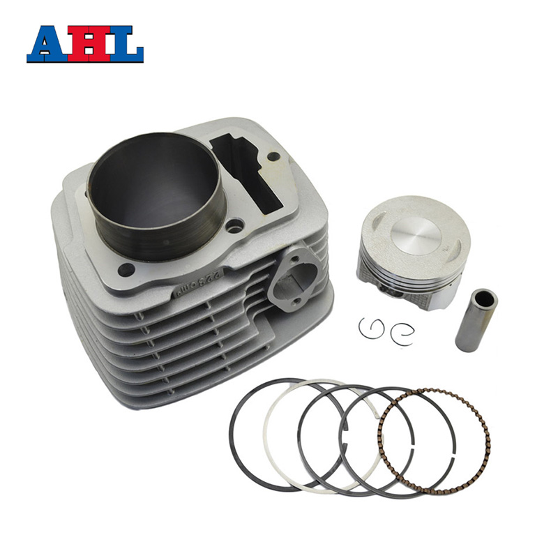 Motorcycle Engine Parts For HONDA SL230 XR230 CRF230 FTR223 FTR230 Air Cylinder Block & Piston Kit & Cylinder Head Gasket ahl motorcycle head cylinder gaskets engine starter cover gasket & oil seal kit for honda vt250 magna 250 racing replacement