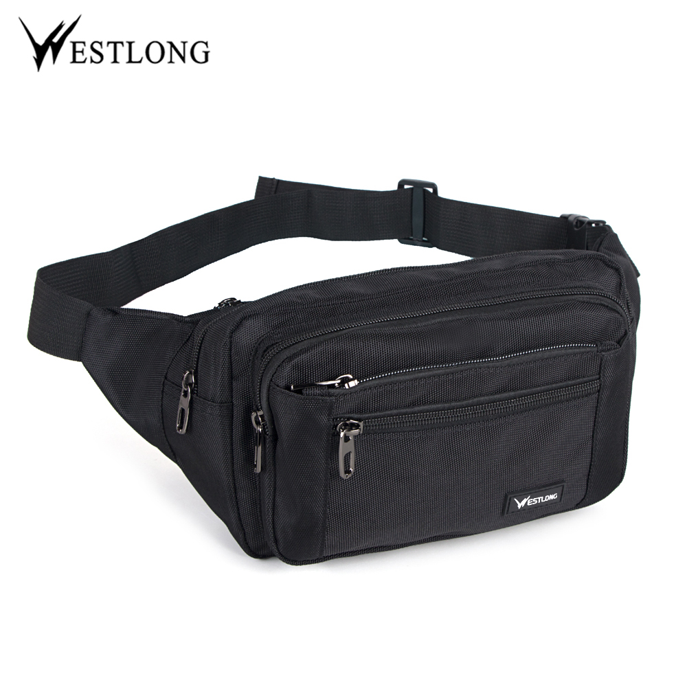 Fashion Waist Pack Casual Functional Men Waterproof Fanny Pack Women Belt Bum Bag Male Phone Wallet Pouch Bags Unisex 3935