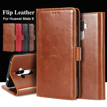 Flip Leather Case for Huawei Mate 8 9 Pro Honor 8 9 Luxury Wallet Cover for Huawei P10 Plus P8 P9 Lite 2017 Phone Case Coque Bag(China)