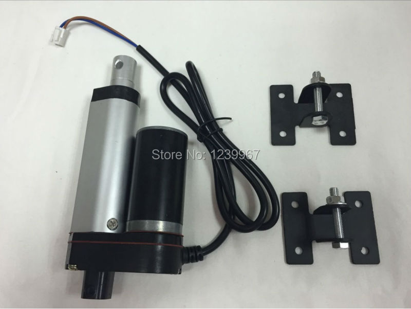цена на High Quality 1 inch Stroke 25mm Linear Actuator 12V 10mm/s 980N 220LBS TV Lift DC Electric Linear Actuator china