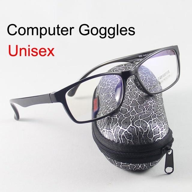Очки Мужчины Очки Женщины Anti UV Очки Анти Излучения Компьютерные Очки 0.00 Прозрачные Линзы Очки Для Чтения óculos Vitra