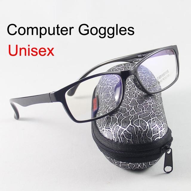 Óculos Homens Mulheres Óculos Anti UV Óculos Anti Radiação Computador Óculos de Proteção 0.00 Lente Clara Óculos de Leitura oculos Vitra