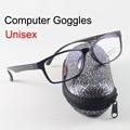 Anteojos Gafas Hombres Mujeres Anti UV Gafas Computadora Contra La Radiación Gafas 0.00 Lente Transparente Gafas de Lectura gafas de Vitra