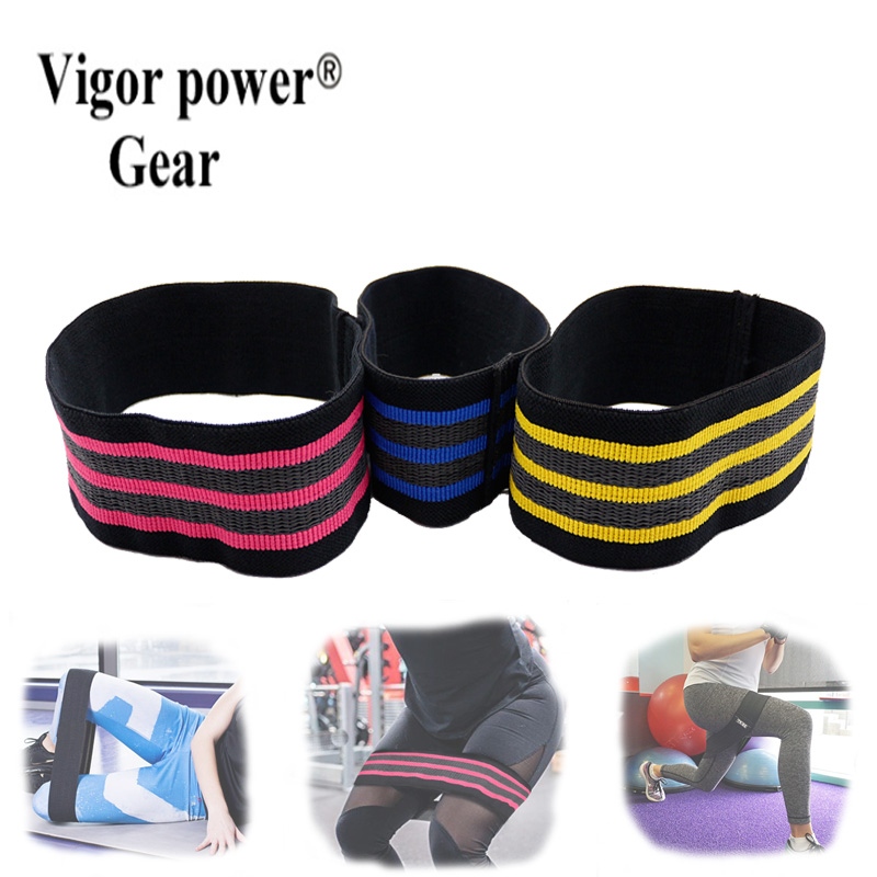 Non Slip Hip Cirlce Band With Grippy Strips Resistance