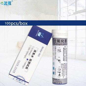 Hydrogen peroxide test strip hydrogen peroxide rapid test strip