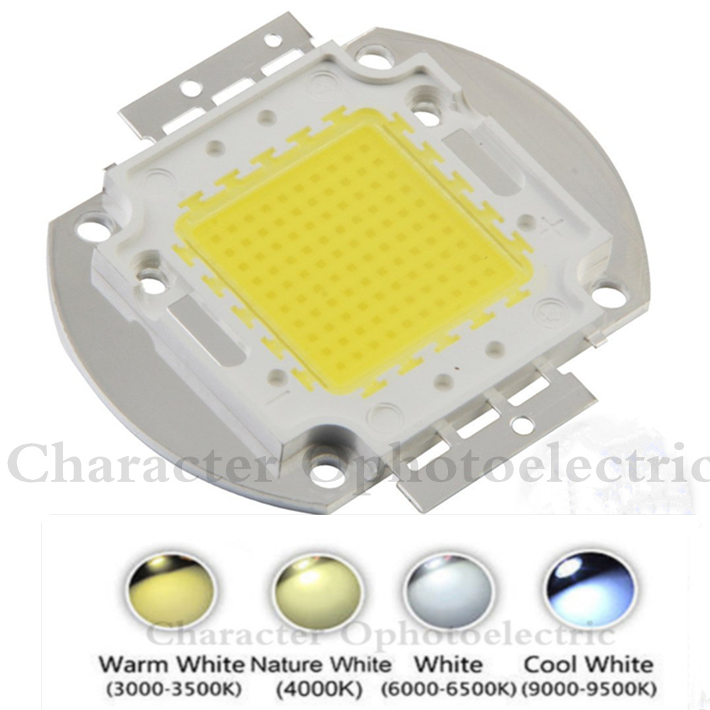Купить с кэшбэком High Power 1W 3W 5W 10W 20W 30W 50W 100W LED Chip Warm Natural cool white Beads