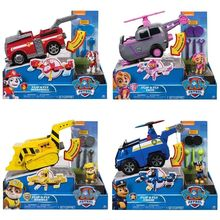 Original box! Genuine Paw Patrol Flip & Fly Chase 2-in-1 Transforming Vehicle chase, marshall, skye, rubble KIDS TOY GIFT--New цена и фото