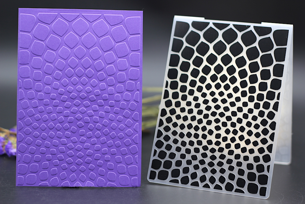 Dot Embossing folders Plastic Embossing Folder For Scrapbooking DIY card WRDE