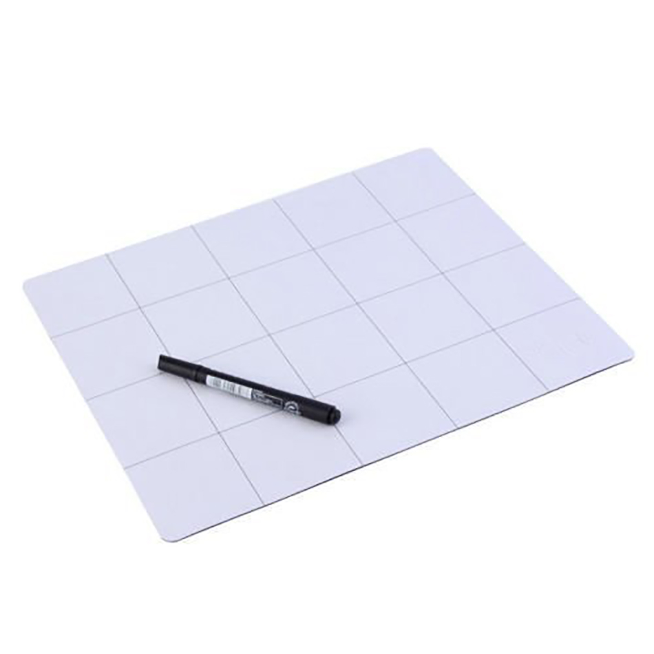 25cm*20cm Magnetic Project Working Memory Pad Mat Screw Sort Adsorption Keeper Mobile Phone Laptop Repair Tools With Marker Pen