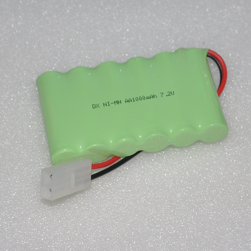 1-4PCS 7.2V AA rechargeable battery pack 1000mah 2A ni-mh nimh batteries NI MH cell for toys cordless phone A