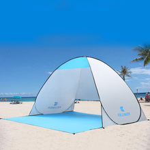 tent Automatic Camping Tent Ship From RU Beach 2 Persons Instant Pop Up Open Anti UV Awning Tents Outdoor Sunshelter