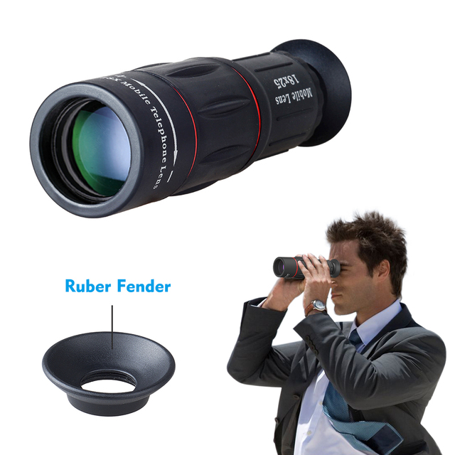 APEXEL 18X Telescope Zoom lens Monocular Mobile Phone camera Lens for iPhone Samsung Smartphones with tripod Hunting SportsT18ZJ 4