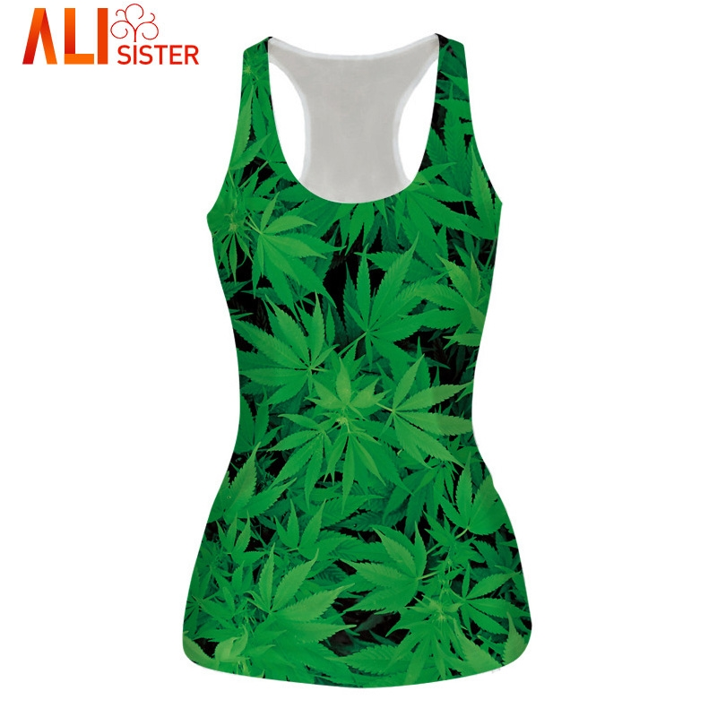 Alisister 21 Model Sexy Bustier Crop   Top   Bralette Unisex Cropped Feminino Basic   Tank     Tops   galaxy/weed Camisole Crops For Summer