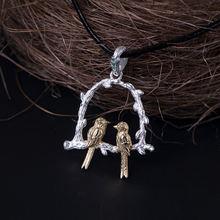 Женские Длинные ожерелья и кулоны из стерлингового серебра 925