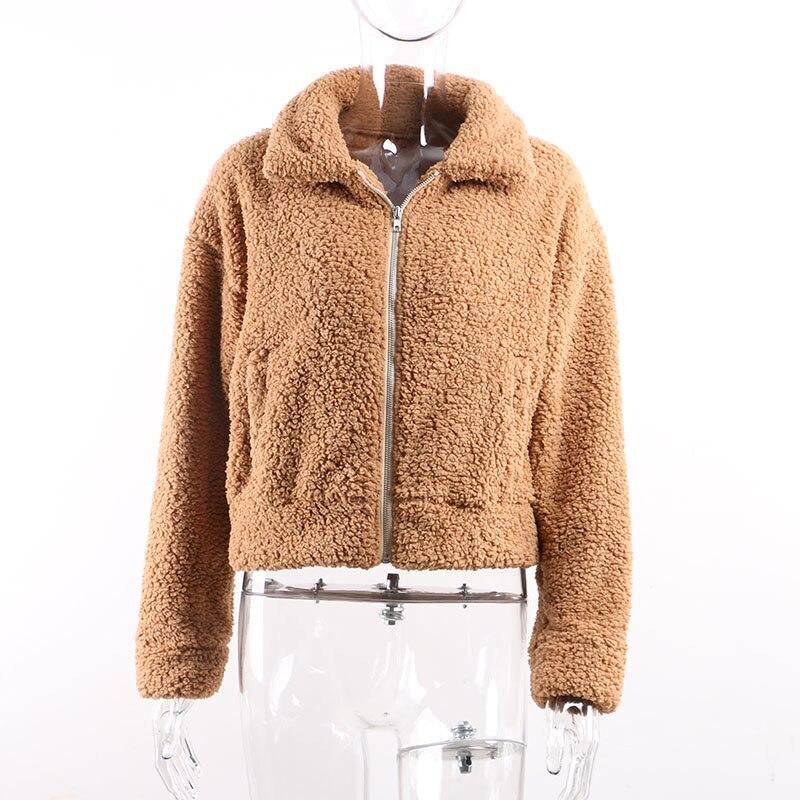 Teddy coat women190