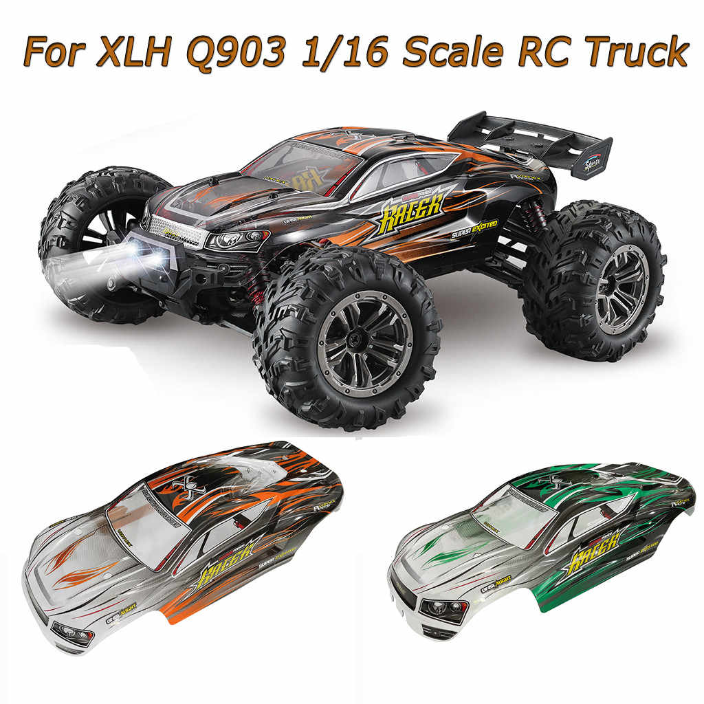 Xlh Q903 9138 1 16 Off Road Nitro Rc 1 16 Truck Body Shell Cover High Quality Rc Car Parts Aliexpress