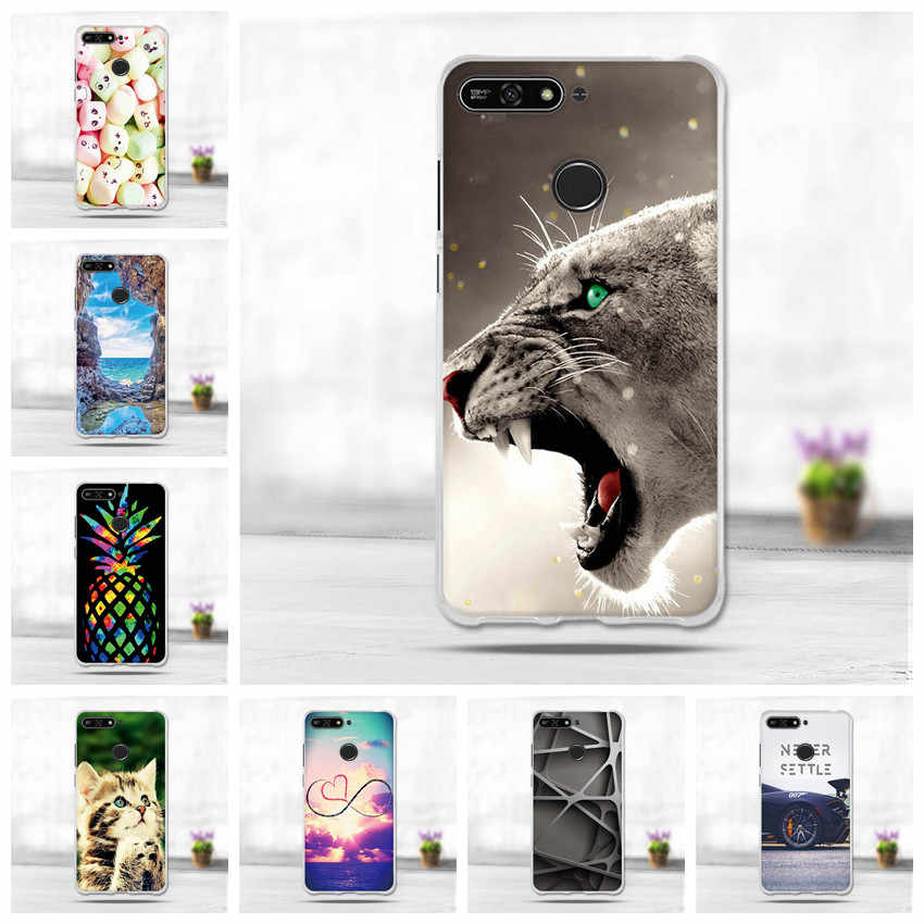"5.7"" Cover For Huawei Y6 2018 Y6 Prime 2018 Enjoy 8e Phone Protective Cases For Huawei Honor 7A Pro Case Cover For Honor 7A Case"