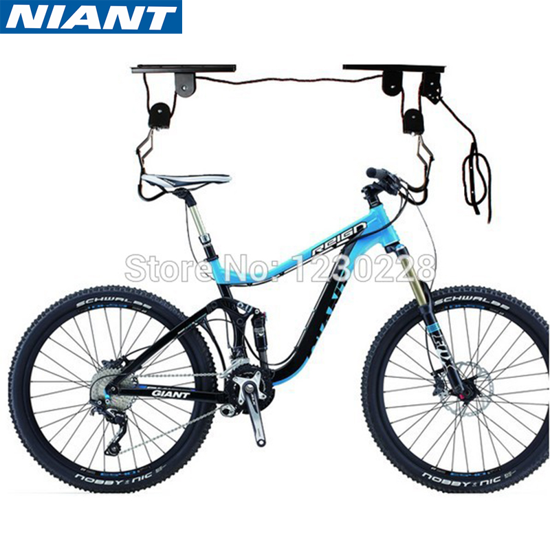 Bicycle Wall Hanging Rack Bicycle Wall Hook Bicycle Display Stand Rack Ceiling Mounted Hanging Bicycle Bike Lift Free Shipping ...