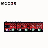 MOOER Red Truck 6 Effects Pedals Built Into 1 Simple Unit Boost Overdrive Distortion Modulatiom Delay
