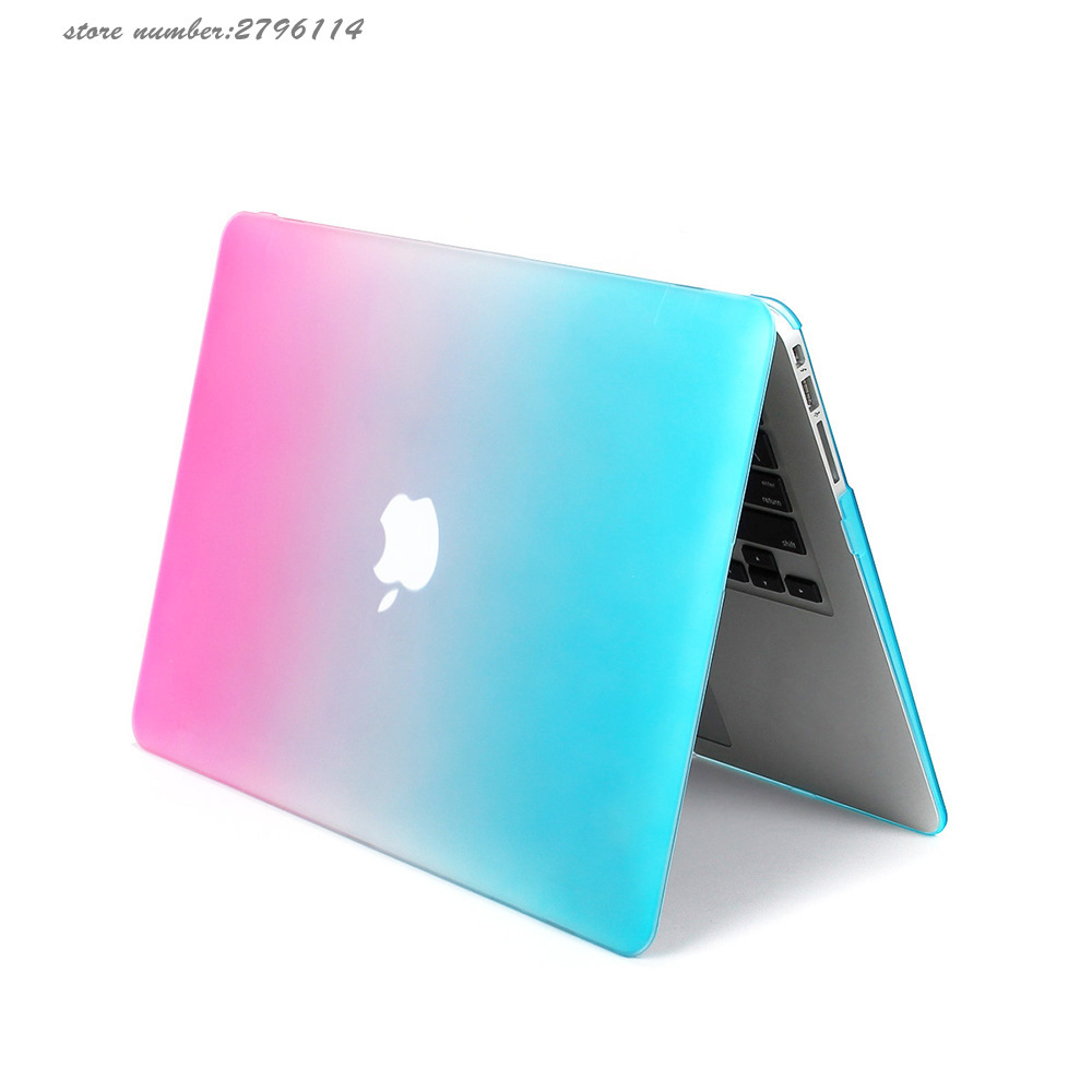 Matte Rainbow Hard Protector Case for Macbook air 11/ 13 inch,cover for Macbook Pro 13 /15 inch for Macbook Pro Retina 12 13/15