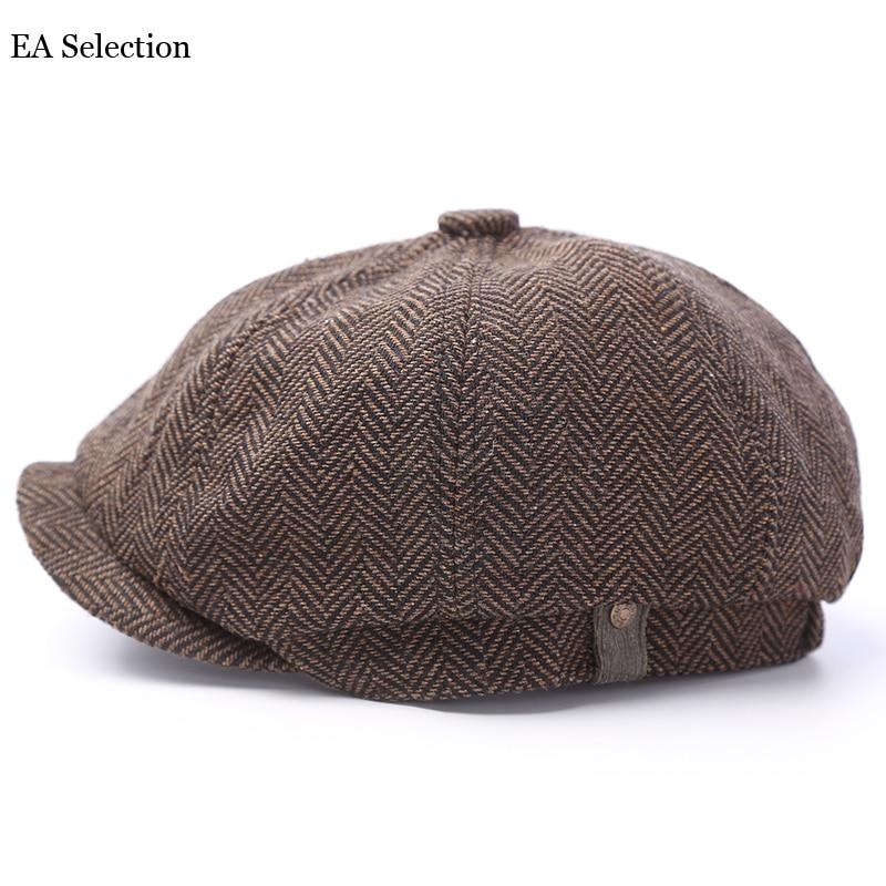 Men's Newsboy Caps Fashion Cotton Blend s