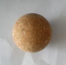 Free shipping 2pcs/lot NEW 36mm cork wood wooden Foosball table soccer table ball football balls baby foot fussball 06