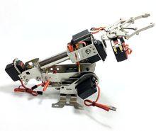 Upgraded version  6 DOF Robot Arm intelligent rotation manipulator Digital Servo installed dhl fast free shipping arduino arm