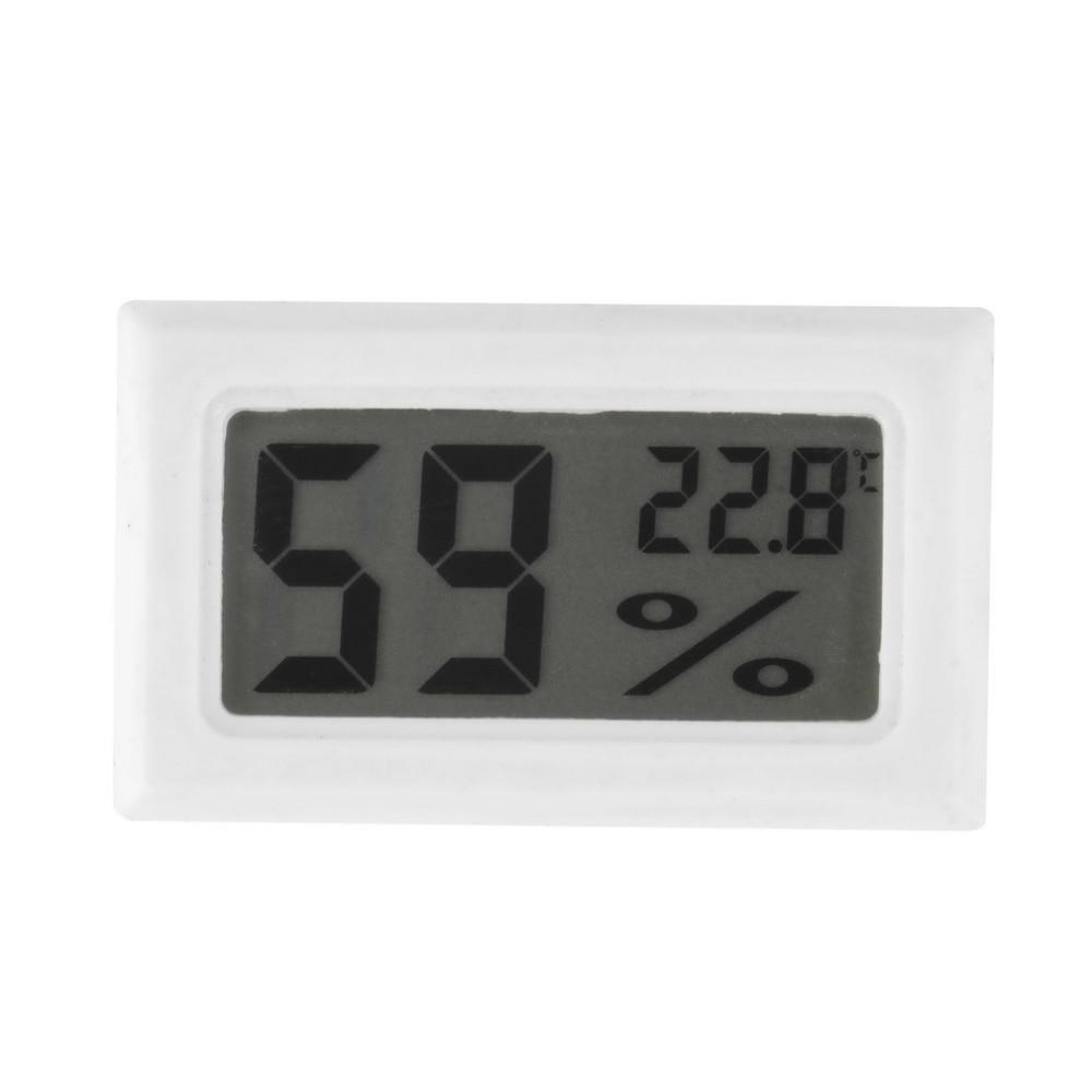 Mini-digitaalne LCD-siseruumides kasutatav mugav temperatuuriandur niiskusmõõtur Termomeeter hügromeetri mõõtur Uus saabumine ülemaailmsesse poodi
