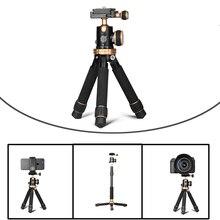 """24 см/1"""" портативный мини настольный Алюминиевый Дорожный штатив Lightweigh с шаровой головкой Quick Release для Canon Nikon sony Iphone"""