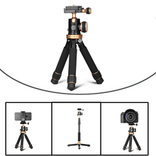24cm/10 Portable Mini Tabletop Aluminum Travel Tripod Lightweigh with Ball Head Quick Release for Canon Nikon Sony Iphone new arrival lightweight portable mini professional tripod with ball head quick release plate for cameras dslr canon sony nikon