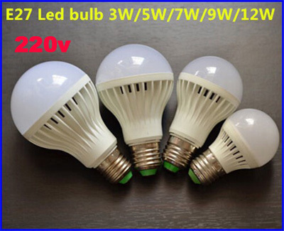 E27/E14/B22 SMD 5730 Led Bulb 3W 5W 7W 9W 12W 15W high brightness led light lamp lampada led 220V home light spot led 1PCS/LOT