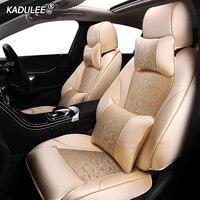 KADULEE Make Custom fabric car seat cover For LEXUS ES ES250 ES350 ES300h ES240 ES200 ES260 CT CT200h Automobiles Seat Covers