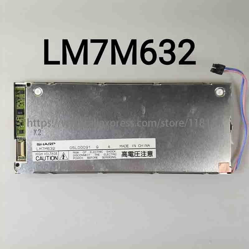 LM7M632 LCD SCREEN DISPLAY for CHEMISTRY ANALYZER RAYTO RT 1904C semi automatic biochemical Panel