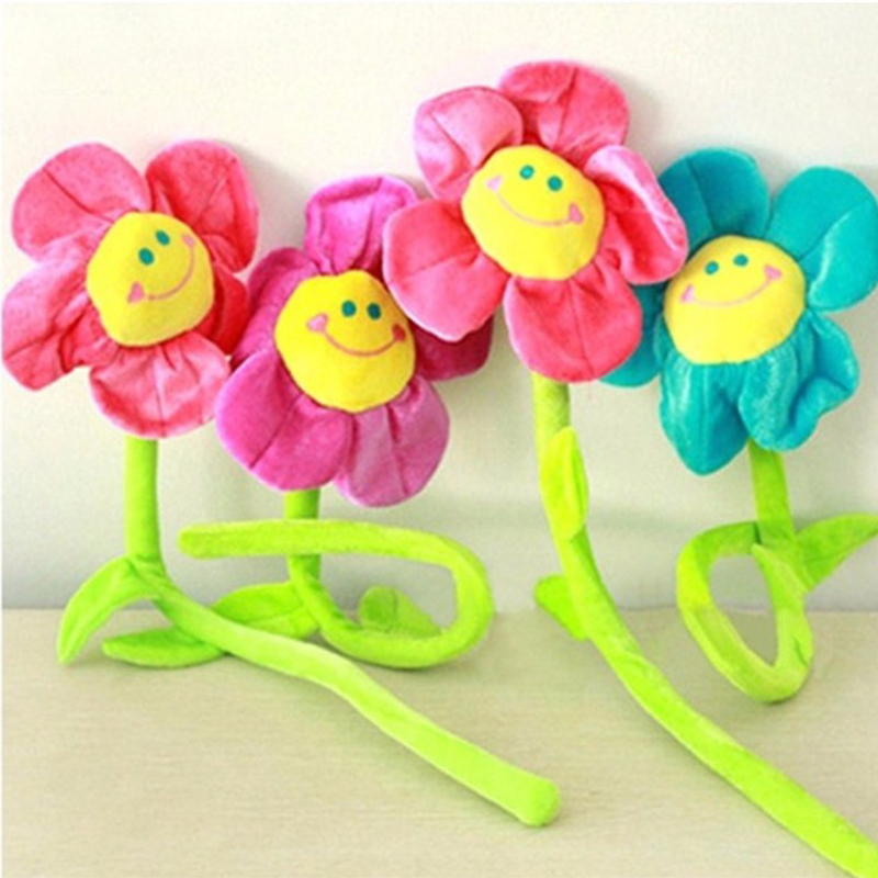 One Piece Stuffed Toys Sunflower Plush Toy Mini Kids Toys Birthday Gift Doll Plush Plants Toys 30CM stuffed toys