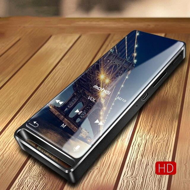 Bluetooth 4,1 MP3-плеер сенсорный ключ ультра тонкий 8 ГБ MP3 музыкальный плеер 1,8 дюймов цветной экран без потерь звук с FM Электронная книга